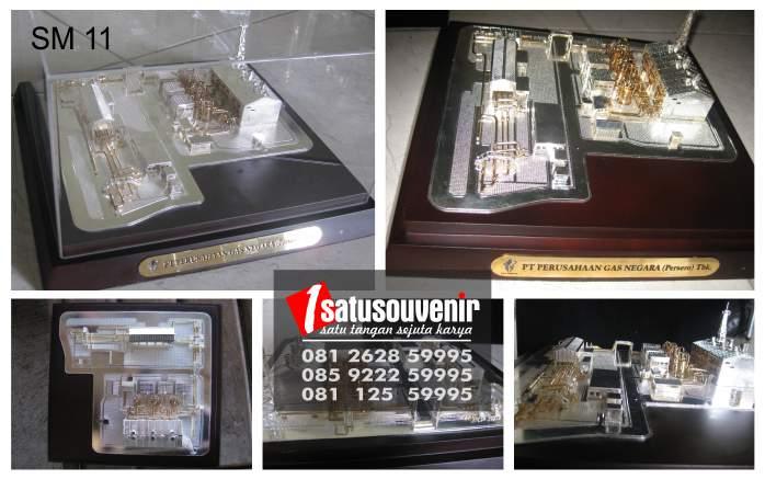 Souvenir Miniatur PT Perusahaan Gas Negara | Buat Miniatur | Miniatur Murah