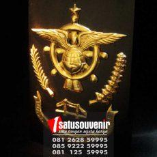 Souvenir Plakat Kayu | Buat Plakat Kayu | Plakat Kayu Balai Diklat Palembang