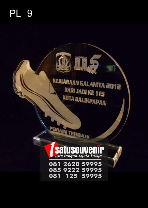 Plakat Laser Grafir Kejuaraan Futsal | Plakat Grafir Kejuaraan Galanita