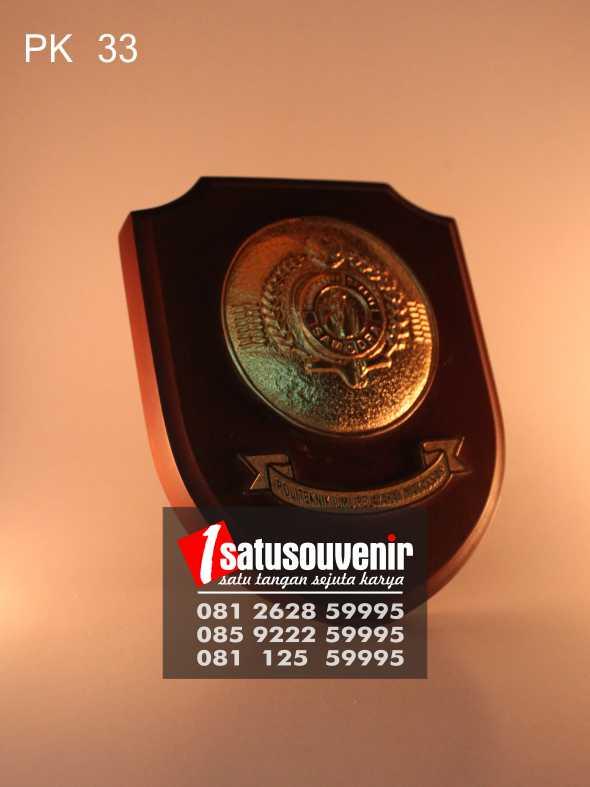 Jual Plakat Kayu | Plakat Kayu Bank BI Sulawesi Tenggara